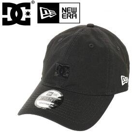 DC ディーシーシューズ キャップ メタルロゴ メンズ 帽子 NEWERA 9TWENTY DCSHOES アジャスタブルキャップ