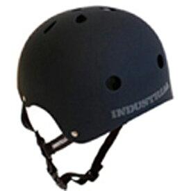 INDUSTRIAL(インダストリアル) ヘルメット 黒(ブラック)【子供〜大人サイズ】スケボー スノボー BMX インライン 自転車 プロテクター
