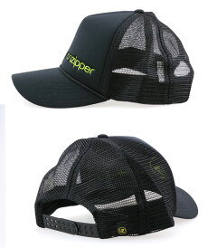 ボンジッパー-メッシュキャップ-スナップバックキャップ-VONZIPPER-CAP-黒色