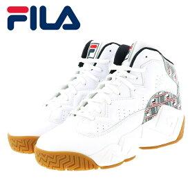 フィラ マッシュバーン ヘイズ バスケットシューズ メンズ スニーカー FILA F0386-125 ホワイト 即納 人気ブランド
