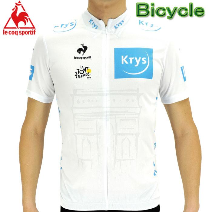 ルコック (デサント) ツールドフランスレプリカ サイクルジャージ 半袖シャツ Lecoq 自転車 QC-7404TDF