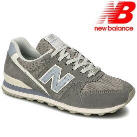 ニューバランス レディース シューズ スニーカー NEWBALANCE 靴 WL996-WL2 グレー