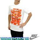 ナイキ ヴィンテージTシャツ シューボックス 靴箱プリント Tシャツ メンズ 半袖Tシャツ NIKE 834637