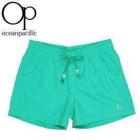 オーシャンパシフィック レディース 水着 下 サーフトランクス 海水パンツ ショートパンツ OP 529415