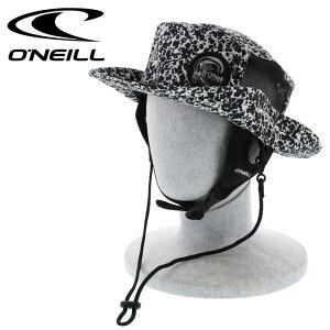 O'NEILL オニール サーフハット 総柄 メッシュ ハット 帽子 ビーチハット ホワイト マリンハット HAT