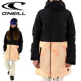 ONEILL スノボジャケット レディース ロング丈 スノーウェア オニール スノーボードジャケット 686103