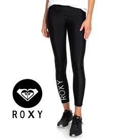 ROXY フィットネス 速乾 吸汗 BRAVE FOR YOU PANT ERJNP03255 ブラック レギンス レディース ランニング