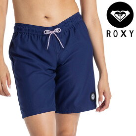 ROXY レディース ボードショーツ ロング丈 ロキシー シンプル サーフパンツ ショートパンツ ネイビー