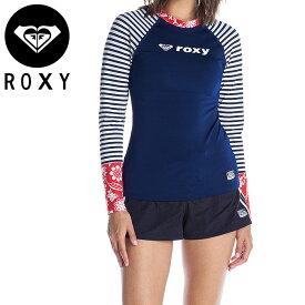 ロキシー レディース ラッシュガード 水着 ロングスリーブ UVカット プルオーバー ROXY RLY202011