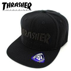 CAP-スナップバック-キャップ-スラッシャー-THRASHER-帽子-スケート-SK8-ストリートブランド-15TH-C50