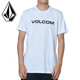 ボルコム APAC CRISP EURO S/S TEE カジュアル 白 半袖Tシャツ VOLCOM Tシャツ トップス メンズ ホワイト