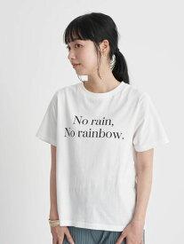 【earth music&ecology】No rainTシャツ レディース アースミュージックアンドエコロジー アースミュージックエコロジー 春夏 夏 2021【 2,000円(税込)以上で 送料無料 】