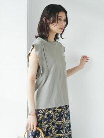 【Green Parks】・SUGAR SPOON フリルノースリTシャツ【 2,000円(税込)以上で 送料無料 】