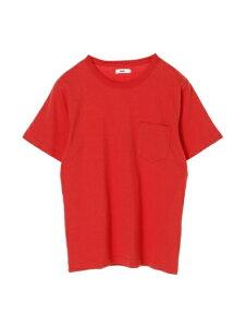 【koe】MENSオーガニックコットン天竺クルーネックポケットTシャツ ? コエ メンズ 男性 M L LL S ブルー ネイビー オレンジ ホワイト