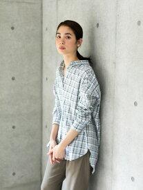 【 送料無料 】【koe】e チェックオーバーサイズシャツ レディース コエ 春夏 春 2020 レッド イエロー グリーン ブルー 人気