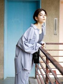 【 送料無料 】【koe】ポンチCPOジャケット コエ 春夏 春 2021 ブラック グレー シルエット 綺麗 着心地 魅力 ポイント ライト 羽織り 重宝