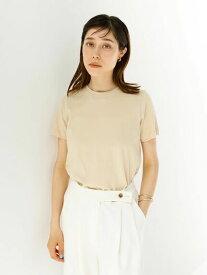 【koe】きれいめクルーネックTシャツ【 2,000円(税込)以上で 送料無料 】