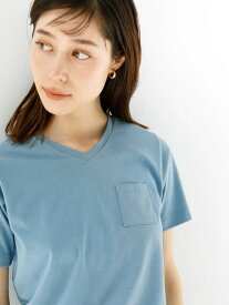 【koe】きれいめVネックTシャツ【 2,000円(税込)以上で 送料無料 】