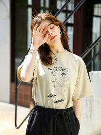 【 送料無料 】【koe】プリントTシャツ ホワイト プリント