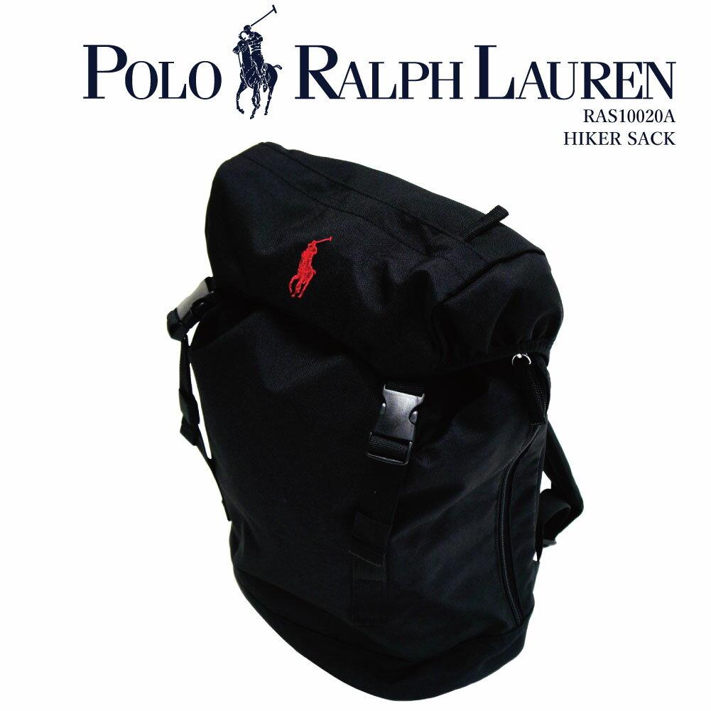 ポロ ラルフローレン POLO Ralph Lauren リュック バックパック 男女兼用 ビッグポニー 迷彩 黒 青 正規品 / HIKER SACK バッグ / RAS10020A
