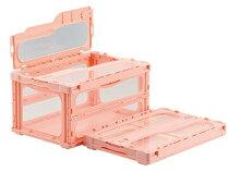 折りたたみ収納ボックス・折りたたみ収納ケースマドコンライトC−40B≪外寸:530x366x283mm≫