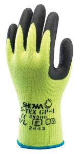 耐切創手袋 S−TEX GP−1(ブラック) 120双 Lサイズ 天然ゴム 手袋 ショーワグローブ ショーワ スベリ止め 耐切創レベル4 1双個装