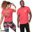 12月発売新作 正規品【ZU0242】 ZUMBA ズンバ ユニセックス ロゴプリント Tシャツ RED XS/Sサイズ M/Lサイズ 海外 フィットネスウェア ズンバウェア la body レディー