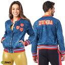 1月発売新作 正規品【ZU1973】 ZUMBA ズンバ ユニセックス デニム ボンバージャケット DENIM XSサイズ Sサイズ Mサイズ 海外 フィットネスウェア ズンバウェア la body