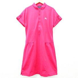 BURBERRY GOLF バーバリーゴルフ 半袖ワンピース ピンク系 2 【中古】ゴルフウェア レディース