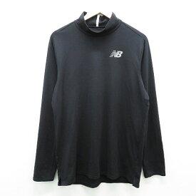 NEW BALANCE ニューバランス ハイネックインナー長袖Tシャツ ブラック系 7 【中古】ゴルフウェア メンズ