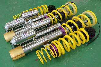 With KW Suspension KIT DDC PLUG & PLAY BMW F31 four-cylinder electronic control-type damper