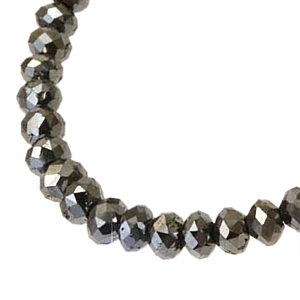 期間限定 店内全品ポイント10倍 ジュエリー・アクセサリー ブラックダイヤモンド ネックレス ダイヤモンド ネックレス 40ct グレードAAAA ブラックダイヤ ネックレス ブラック ネックレス