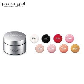 パラジェル ナチュラルライン シースルー 4g para gel パラジェル ジェルネイル ST01/ST02/ST03/ST04/ST05/ST06/ST07/ST08