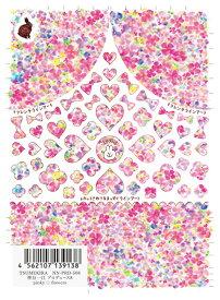 ◎TSUMEKIRA ツメキラ 神谷一江 プロデュース8 pinky・flowers NN-PRD-508【ネイルシール 貼るだけ 簡単 フラワー ハート ライン フレンチ タイダイ風 手書き 】