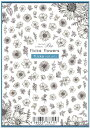 写ネイルSha-Nail Pro SAORI-001 flicka flowers / フリッカフラワー【ネイルアート 用品 デコネイルシール 貼るだけ 簡単 写ネイルpro…