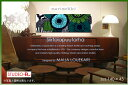 【marimekko/マリメッコ】 ファブリックパネル/ファブリックボード Siirtolapuutarha(GR) [ご注文サイズ:W140cm×H45…