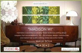 ファブリックパネル ファブリックボード marimekko マリメッコ MADISON WI(GGR)マディソンウィ[SIZE:W140×H30cm ×2枚set]日本未発売!数量限定入荷しました。