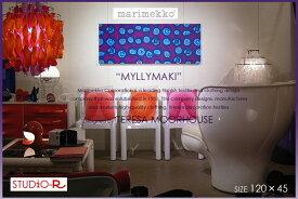 marimekko マリメッコ ファブリックパネル ファブリックボード MYLLYMAKI(PUR)[ご注文サイズ:W120cm×H45cm]北欧 ファブリック