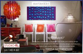 marimekko マリメッコ ファブリックパネル ファブリックボード MYLLYMAKI(PUR)[ご注文サイズ:W140cm×H60cm]北欧 ファブリック