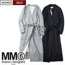【定価82,080円(税込)】MM6 Maison Margiela エムエムシックス 休日スタイルにぴったりな上品でリュクスな着心地♪裏起毛スウェットロ…