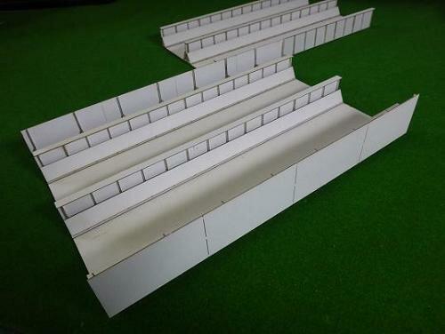 16番ゲージ用 複線スルーガーダー橋