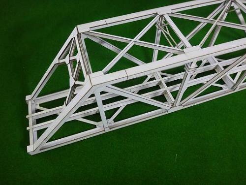 16番ゲージ用 近代型ワーレントラス橋(基本セット399mm)