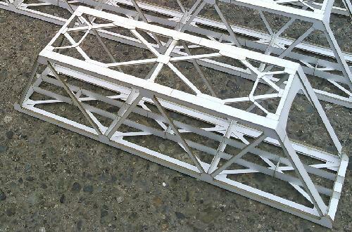 16番:β版 単線現代型ワーレントラス橋(基本セット345mm)