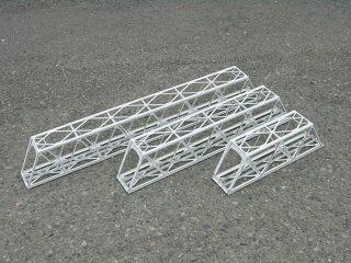 16番:β版 単線現代型ワーレントラス橋(延長セット+224mm)