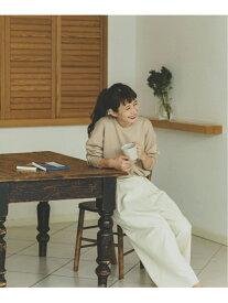 [Rakuten Fashion]ラップフウデニムワイドPT studio CLIP スタディオクリップ パンツ/ジーンズ ワイド/バギーパンツ ホワイト ネイビー ブラック【送料無料】