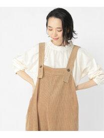 [Rakuten Fashion]ダブルエリフリルBL studio CLIP スタディオクリップ シャツ/ブラウス 長袖シャツ ホワイト ベージュ ブラック【送料無料】