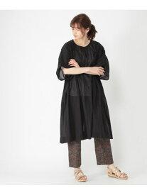 【SALE/50%OFF】ボイルXレースボリュームOP studio CLIP スタディオクリップ ワンピース 5ー9分袖ワンピース ブラック ベージュ ホワイト レッド【RBA_E】[Rakuten Fashion]