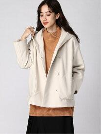 [Rakuten Fashion]フードミドルCT studio CLIP スタディオクリップ コート/ジャケット コート/ジャケットその他 ホワイト ブラウン グレー【送料無料】