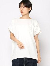 【SALE/50%OFF】カタギャザーPO studio CLIP スタディオクリップ カットソー Tシャツ ホワイト カーキ ネイビー【RBA_E】[Rakuten Fashion]