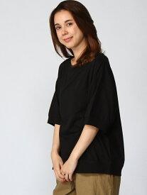 [Rakuten Fashion]【SALE/30%OFF】L-USAボートNリブPO studio CLIP スタディオクリップ カットソー Tシャツ ブラック レッド ブラウン ベージュ【RBA_E】